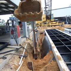 Plate Shoring Removal
