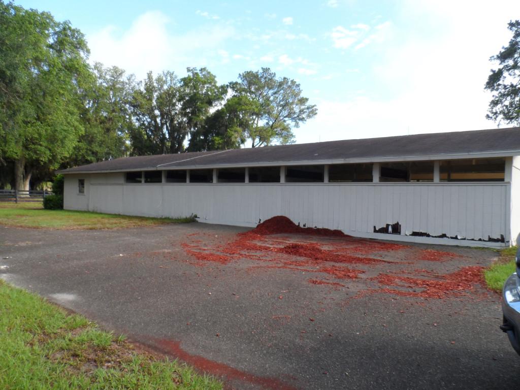 BEFORE: Barn Demolition