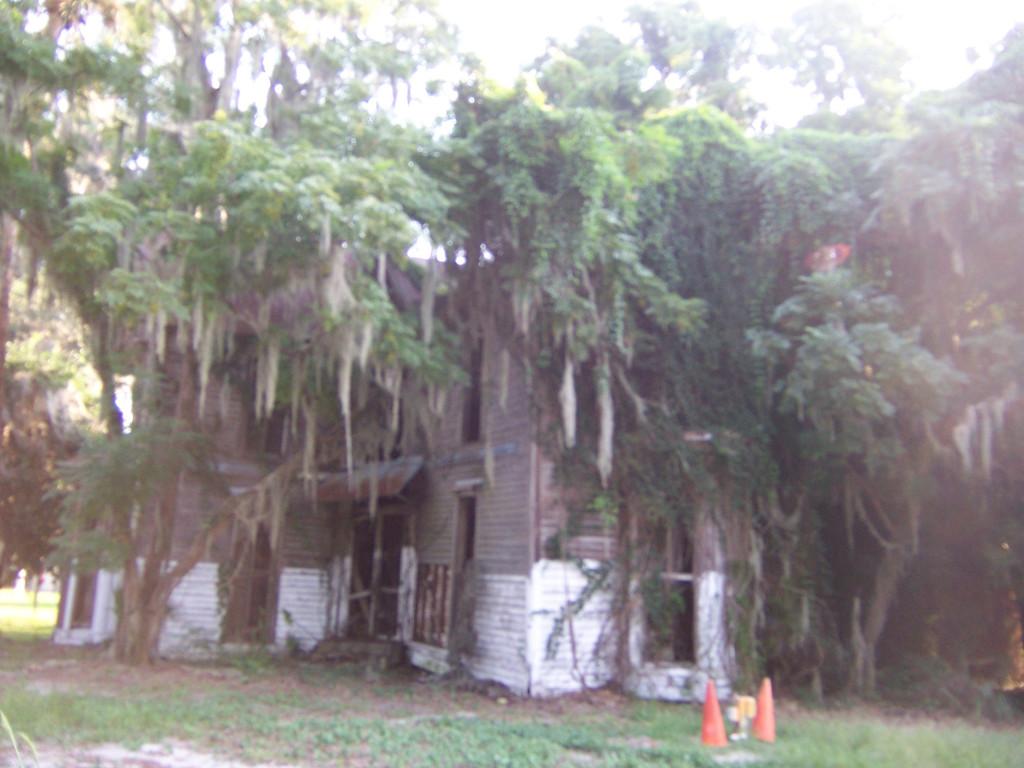 BEFORE: Three Story House Demo