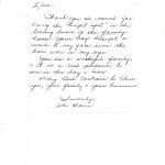 Customer Letters -The Bares