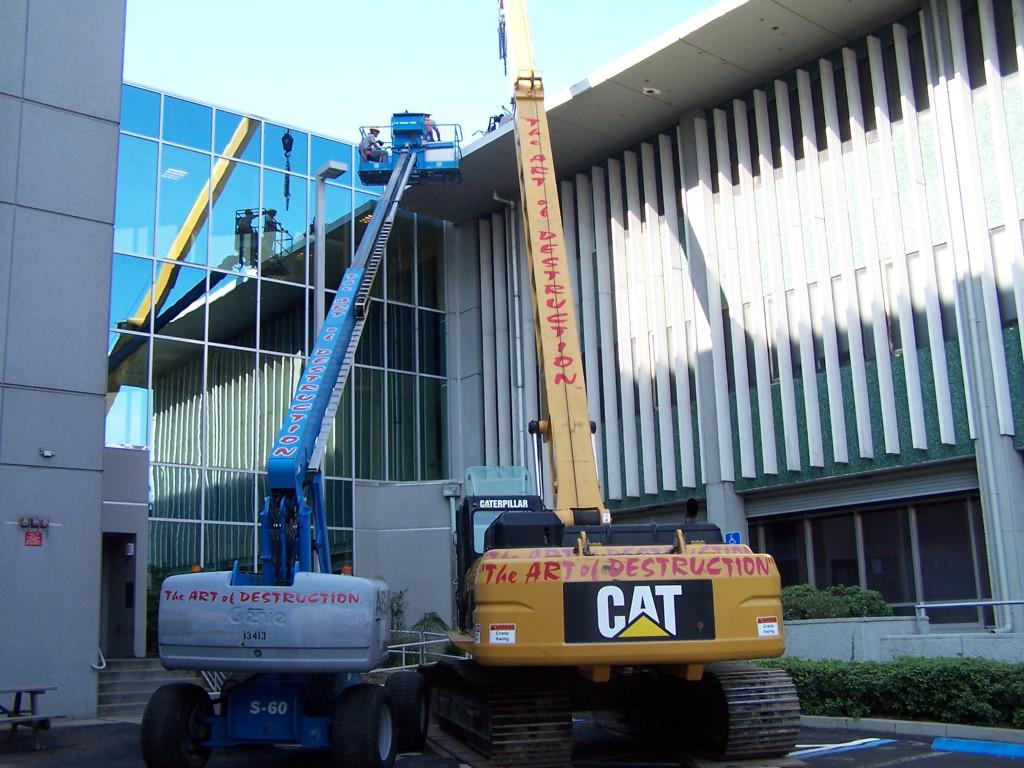 Raised Concrete Removal Multiple Stories