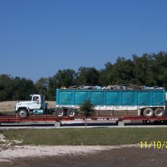 Recycling of Debris